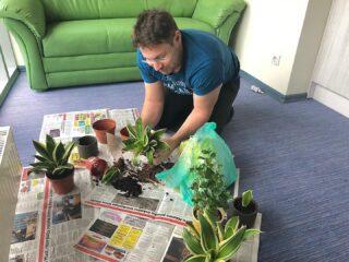 Meil on kontoris üks taimearmastaja, kasvatab lilli nagu oma lapsi! 🌱🌱🌱